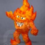 Botargas de Objetos Animados Flama GAS FUEGO