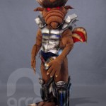 Botargas de Personajes de Fantasía Ogro GRUPO MAVA