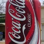 Inflable publicitario Lata Coca Cola