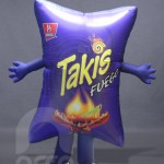 Botarga inflable TAKIS FUEGO