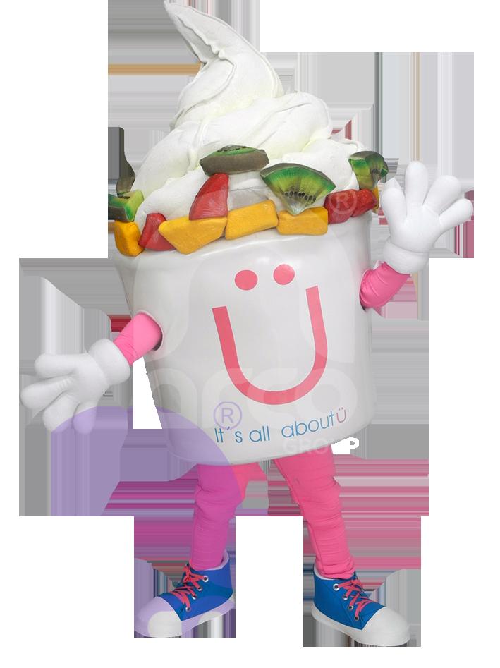 Botargas animadas alimentos helado