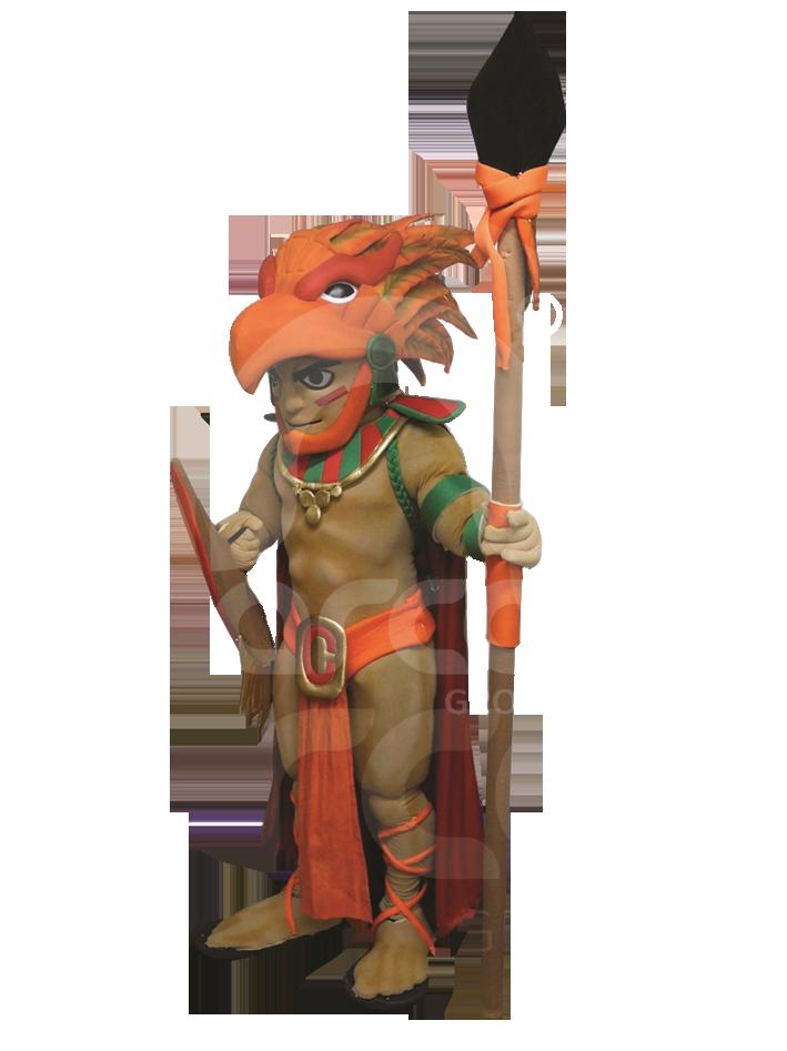 Botargas animadas fantasia azteca