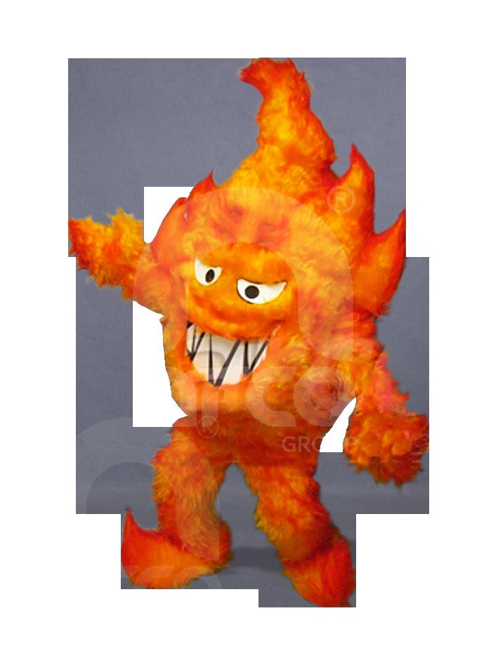 Botargas animadas flama