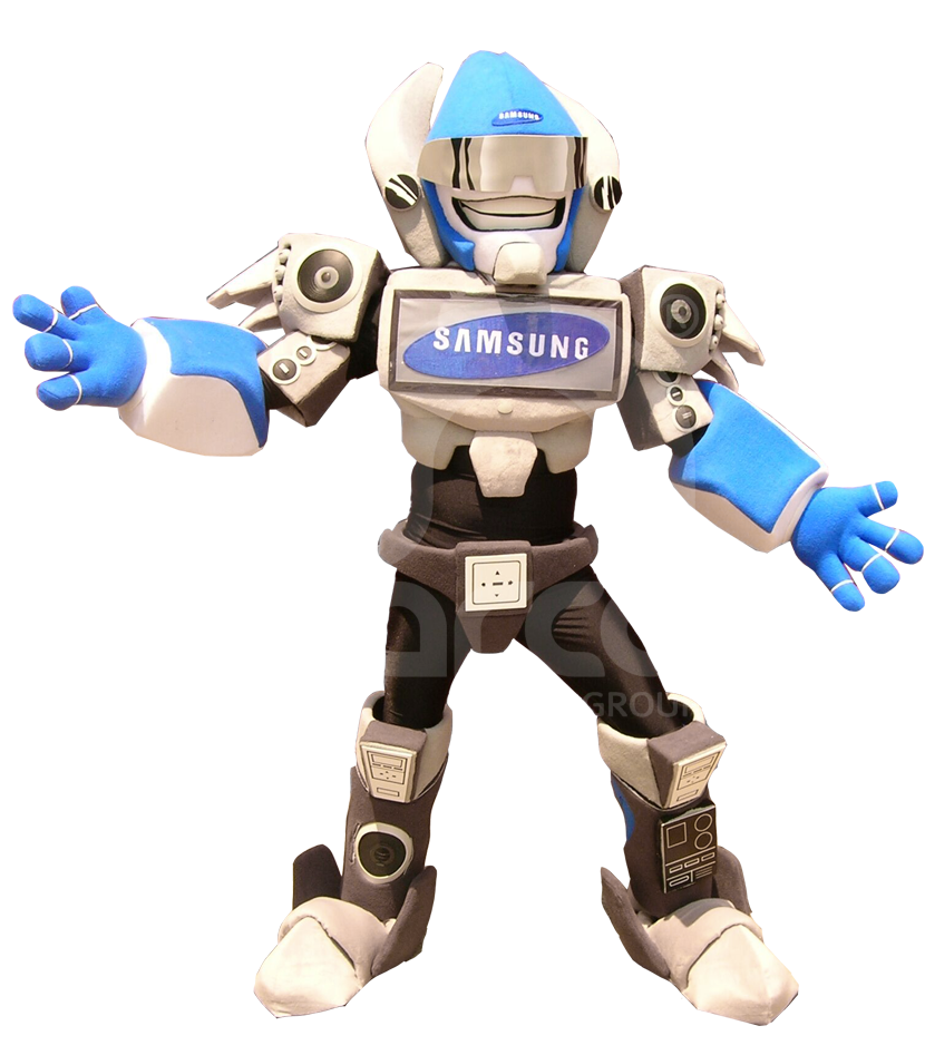 Botargas animadas robots samsung