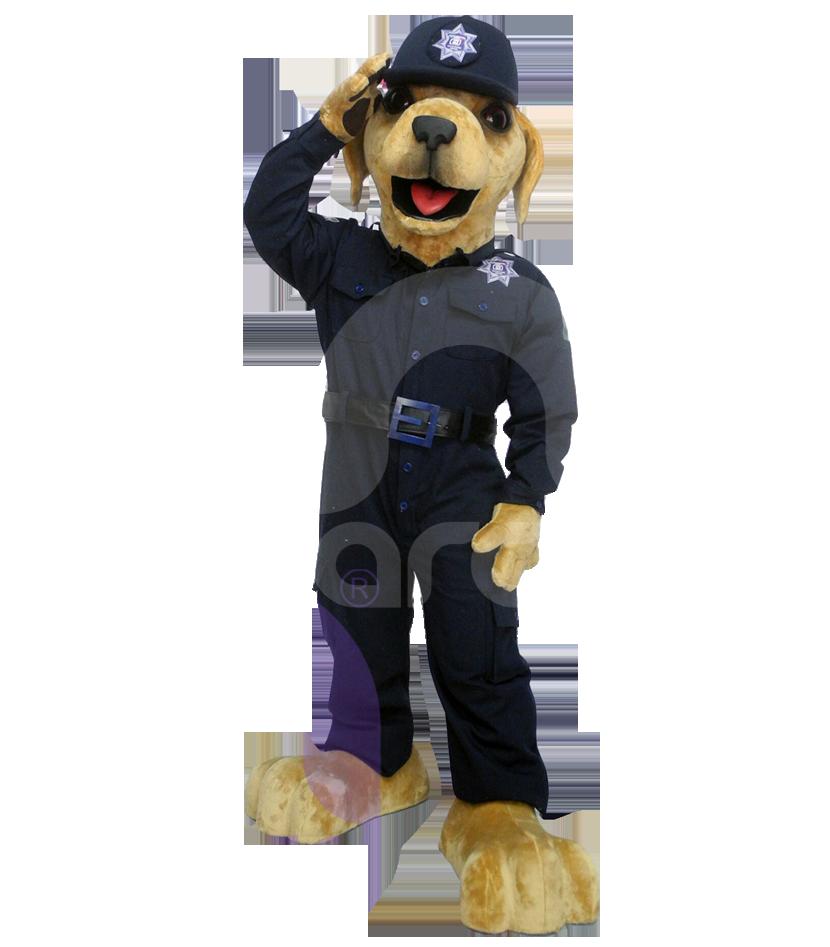Botargas de animales perros policia