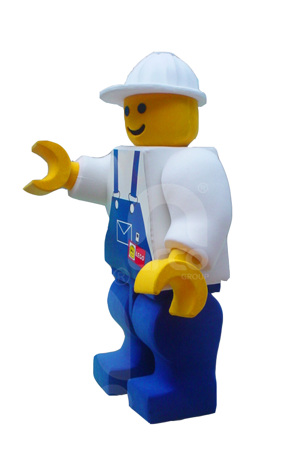 Botargas famosas licensing lego