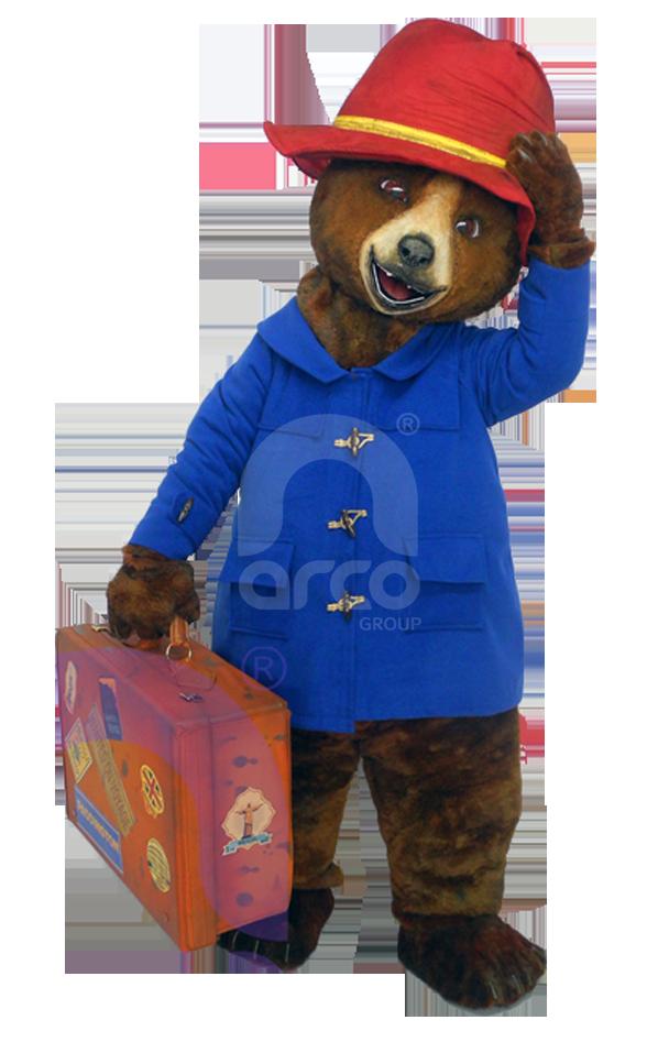 Botargas famosas licensing oso paddington