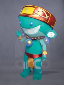botargas-originales-juegos-centroamericanos-prehispanico