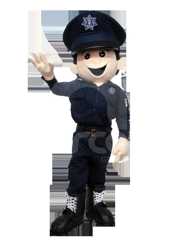 Fabricación de botargas de figuras humanas policia
