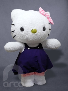 identidad empresarial hello kitty