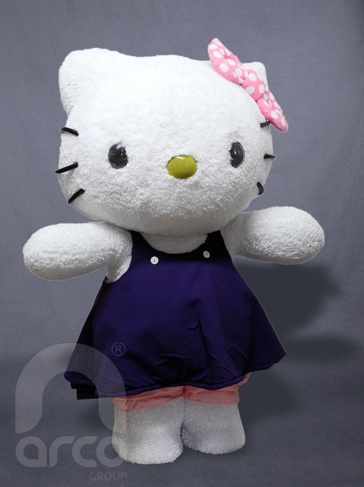 identidad empresarial hello kitty